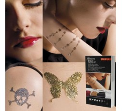 Pupa Body Glitter Tattoo 1+1 gratis