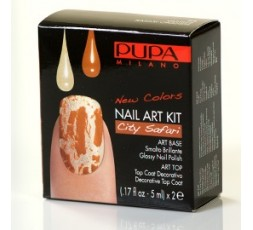 Pupa Nail-art Kit Vanilla/Safari Orange