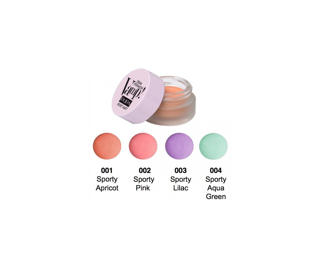 Pupa Vamp! Cream Eyeshadow Velvet Matt 4,5g