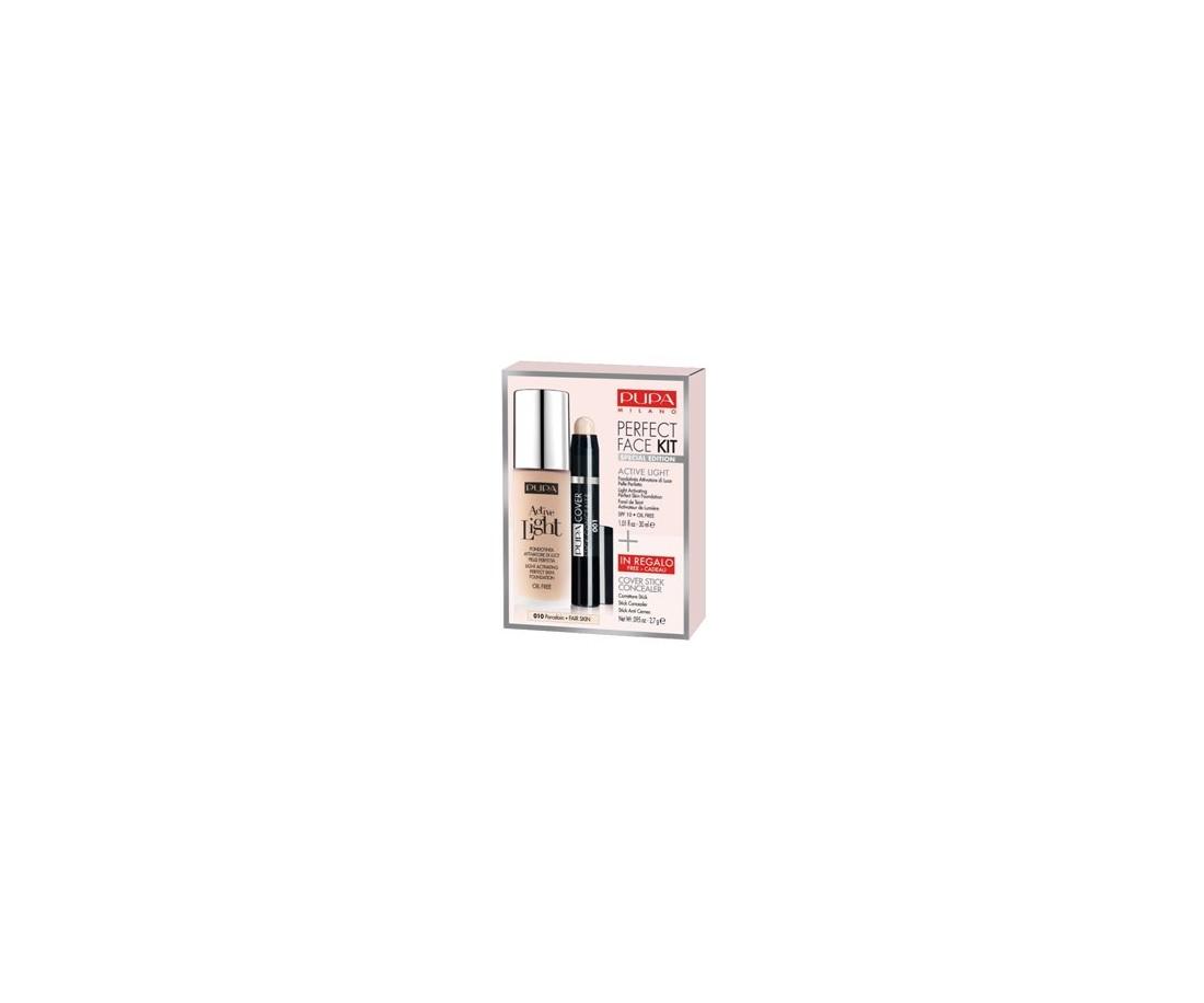 Pupa Perfect Face kit - Active Light Foundation+gratis concealer 030