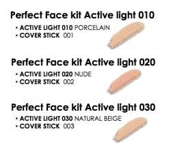 Pupa Perfect Face kit - Active Light Foundation+gratis concealer