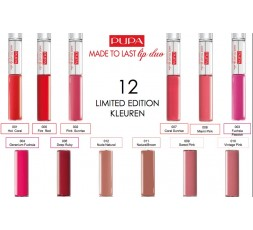 Pupa Made to Last Lip duo - waterproof