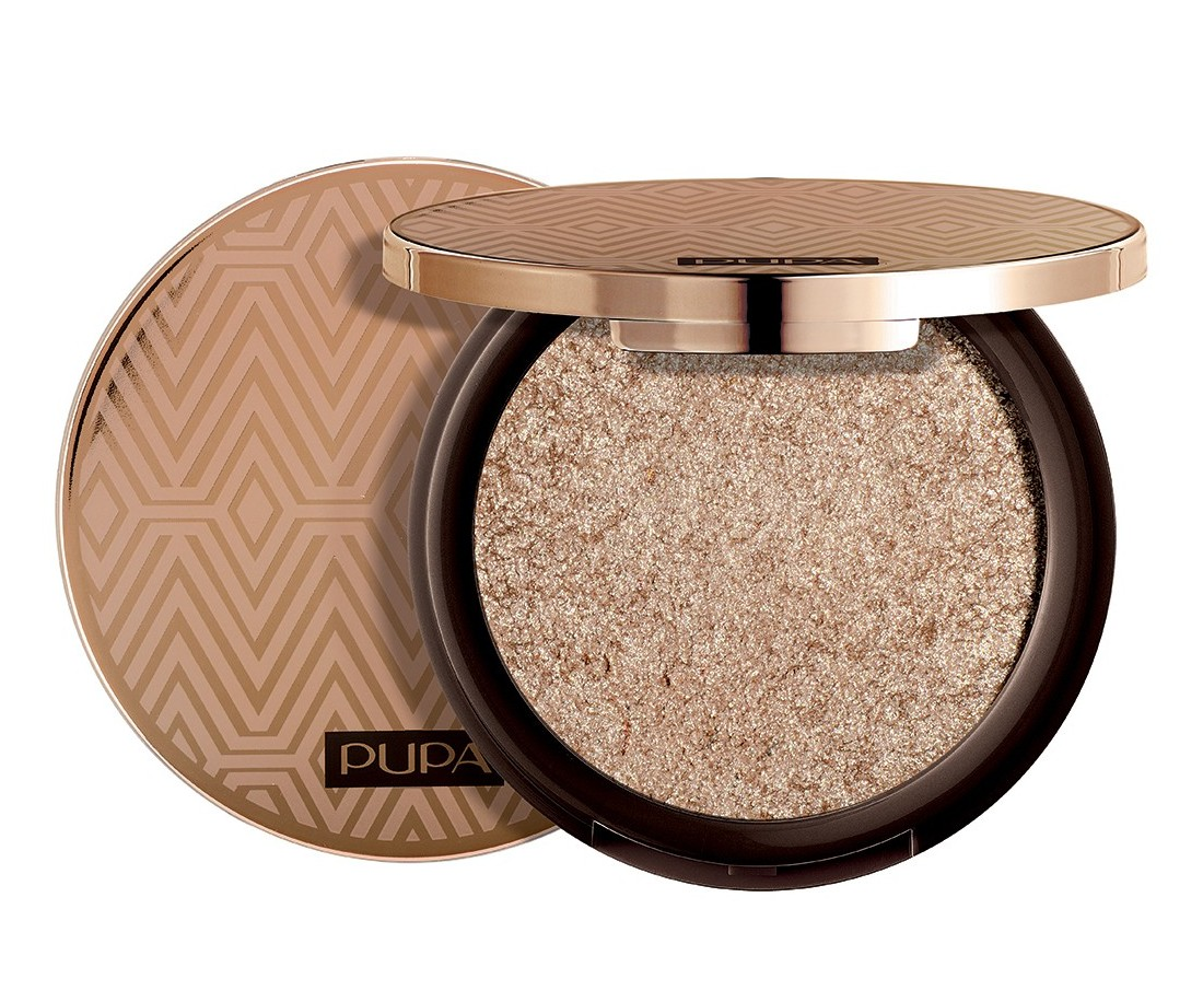 Pupa 3D gold eyeshadow