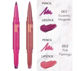 Pupa Material Luxury duo lips twist up