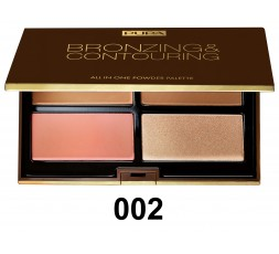 Pupa Bronzing & Strobing all in one powder palette