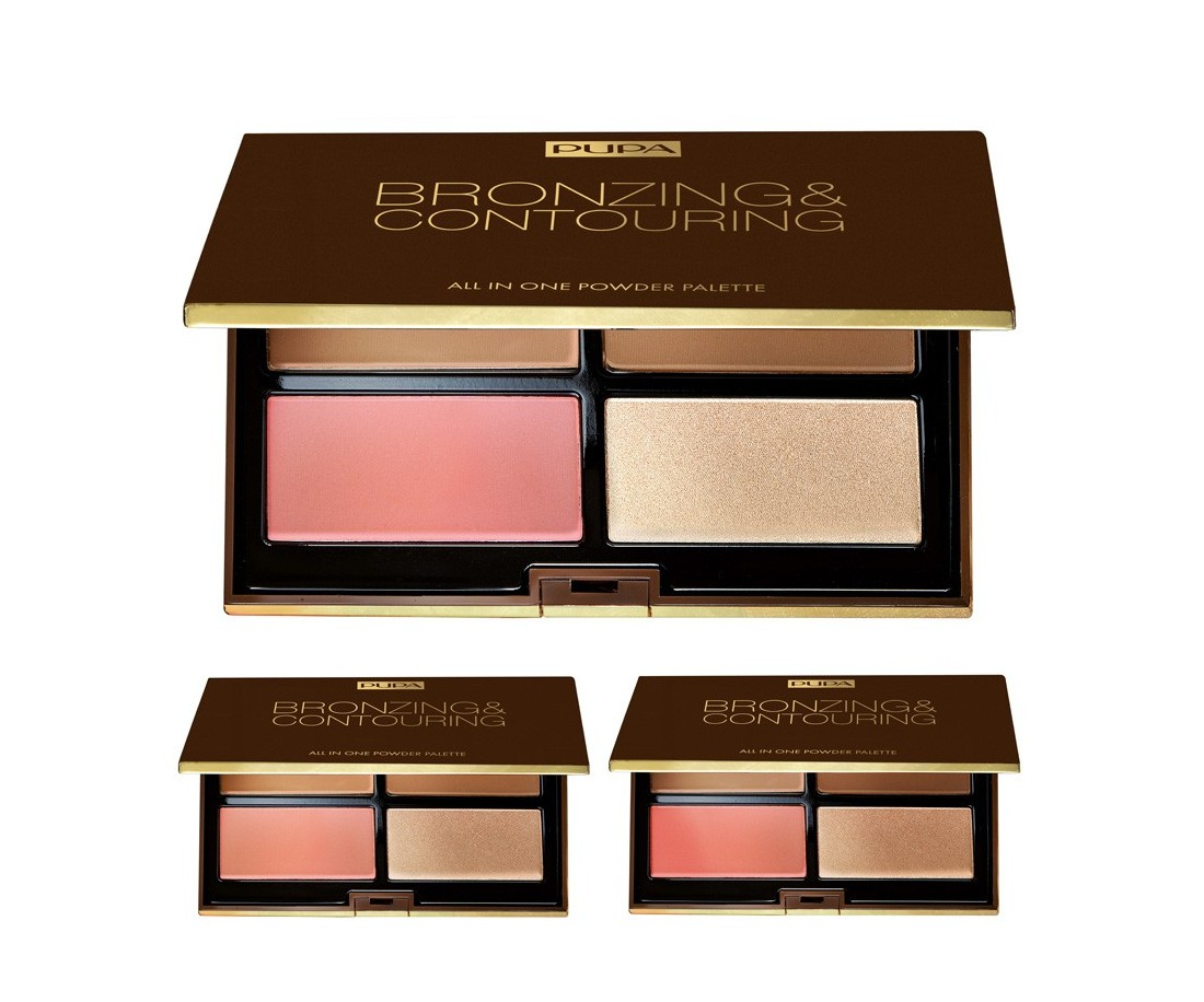 Pupa Bronzing & Contouring all in one powder palette