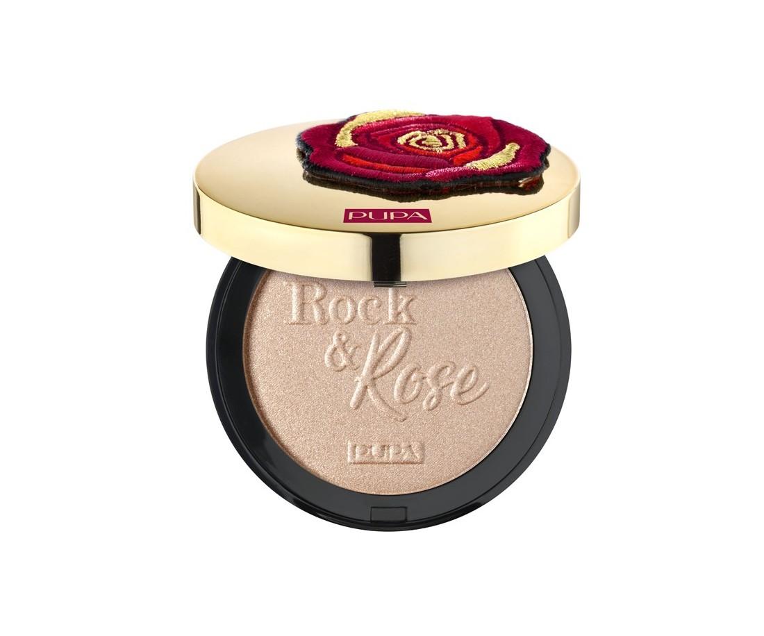 Pupa Rock & Rose Highlighter Indecent Rose Gold