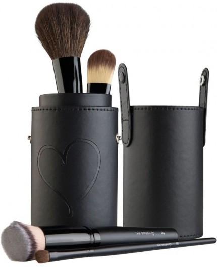 Wonderbaar The Brush Make-up kwasten-set met penseel-houder SK-61