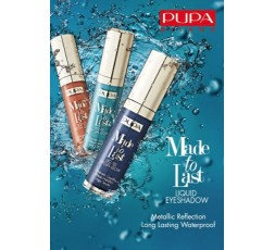 Pupa Made To Last Liquid Eyeshadow
