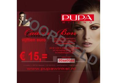 Pupa Cadeaubon € 15,00