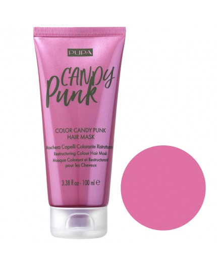 Pupa Candy Punk Hair Mask- Color