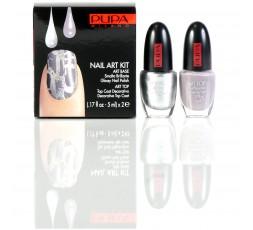PUPA Nailart Silver/Grey Violet