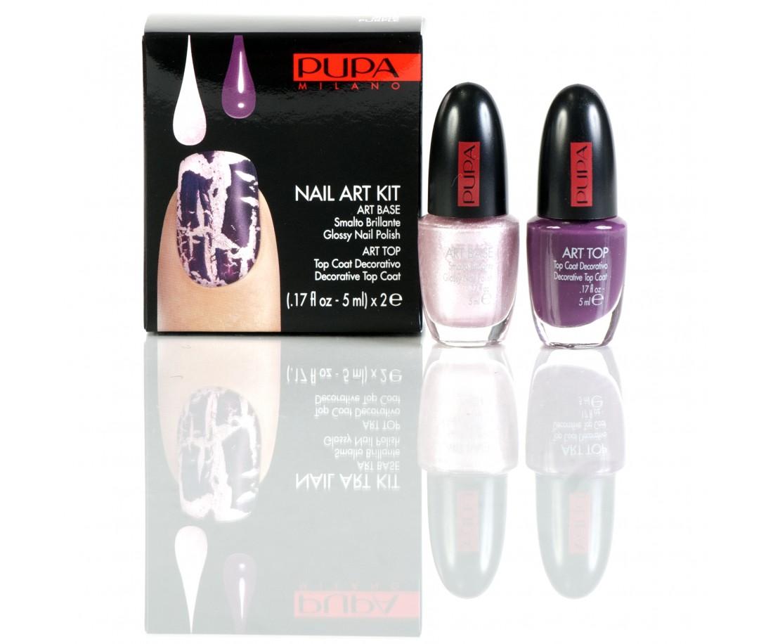 PUPA Nailart Pink/Purple