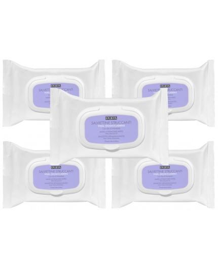 Pupa Make-up Remover doekjes met amandel olie - 5 pack